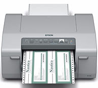 Epson C831 inkjet printer for chemical tags and labels