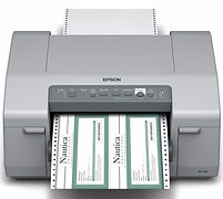 Epson C831 inkjet printer for full-color tags and labels