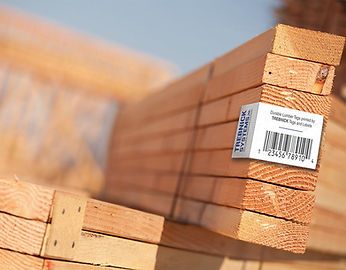 Trebnick manufactures tags and label for lumber and lumber products