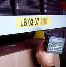 Trebnick manufactures warehouse rack labels and tags for organization