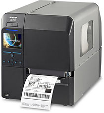 SATO CL4NX thermal transfer tag and label printer