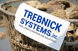 Trebnick manufactures tags an labels for the seafood industry