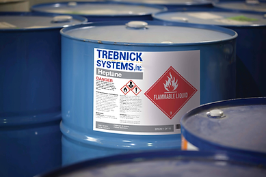 Trebnick manufactures chemicaly safe GHS labels and tags