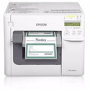 Epson C3500 inkjet printer for full-color tags and labels
