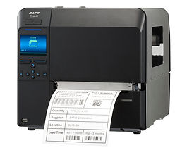 SATO CL6NX thermal transfer tag and label printer