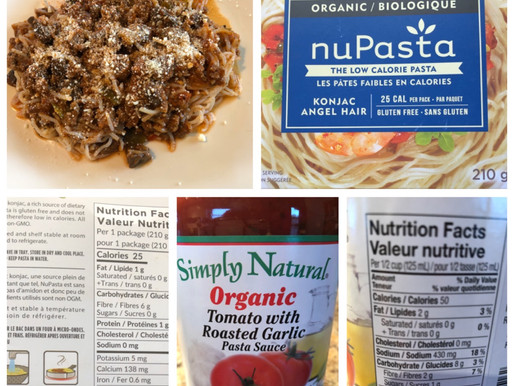 Healthy pasta and sauce-low in carbs / healthy keto