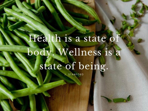 Health and wellness- they go together like pen and paper