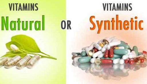 Synthetic verses Natural vitamins