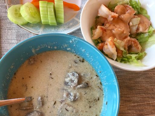 Delicious healthy keto meal