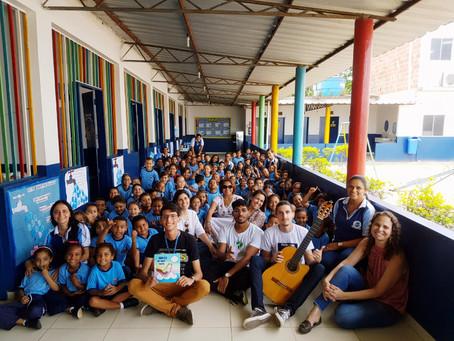 Herói de Sete Cores, um livro lançado pela CPRH com apoio da São José Agroindustrial