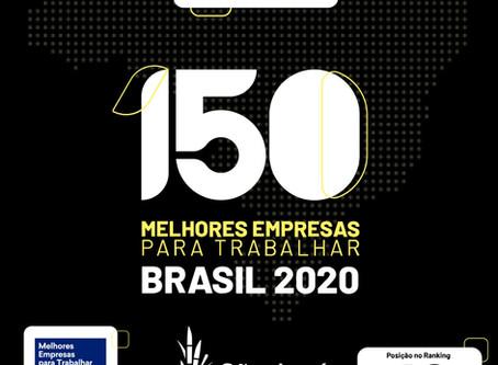 São José Agroindustrial está entre as 150 Melhores Empresas para Trabalhar no Brasil