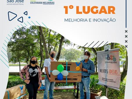 Premiação das melhores ideias para inovação na São José