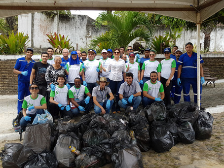 São José Agroindustrial realiza mutirão de limpeza em Igarassu