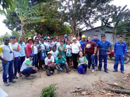 São José realiza conscientização ambiental em Três Ladeiras