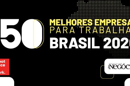 Premiação das 150 Melhores Empresas para Trabalhar no Brasil acontece na casa dos colaboradores