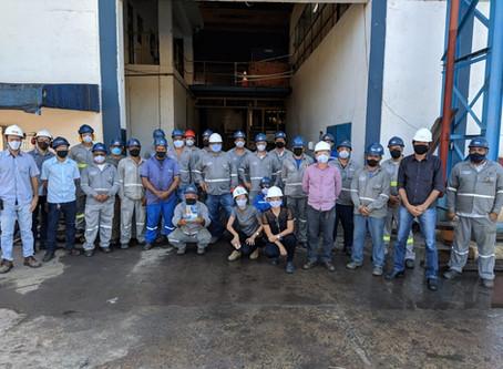 1.000 dias sem acidentes na São José Agroindustrial