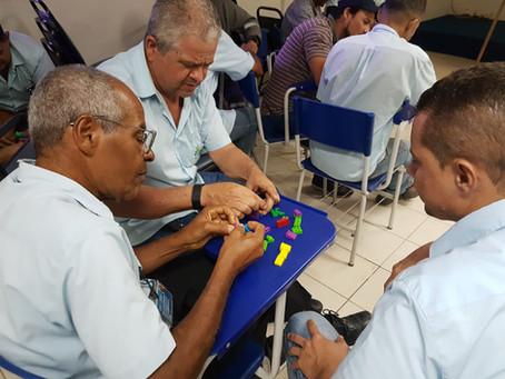 Liderança recebe treinamento de inovação e  criatividade aplicada a solução de problemas