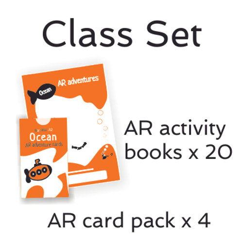 Class Pack - AR Activity book + cards l Ocean Adventure