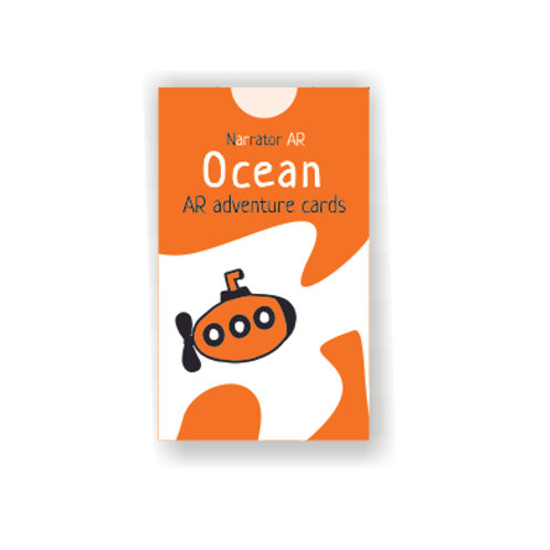 AR Activity cards only l Ocean Adventure