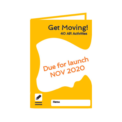 Get Moving AR Activity book