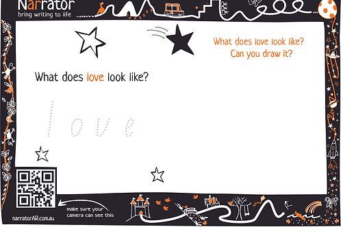 Story page - Love looks like