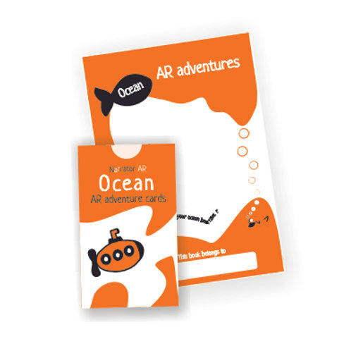 AR Activity book + cards l Ocean Adventure