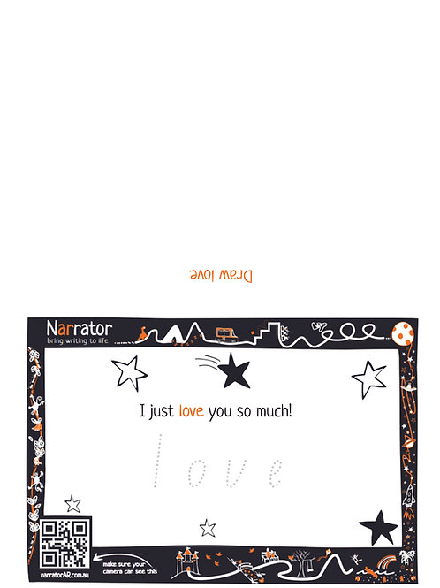 Valentine's Day card - I just love you so much!
