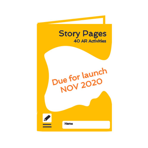 Story Pages AR Activity book