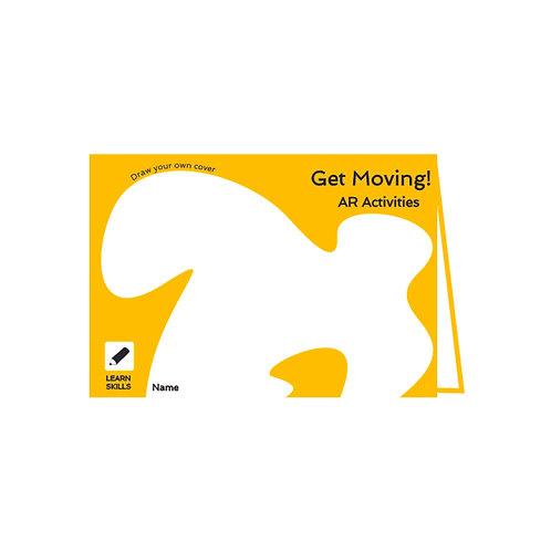 Get Moving AR Activity book - digital download