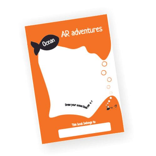 AR Activity book only l Ocean Adventure