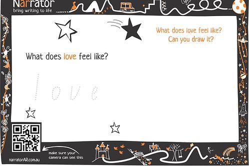 Story page - Love feels like