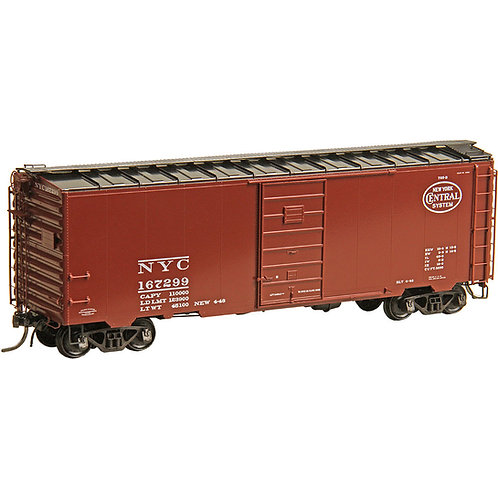 #4329 HO Scale New York Central NYC #167299 - RTR 40' PS-1 Boxcar