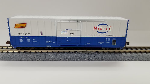 61151 N Scale Wheels of Time Pacific Car & Foundry 70' Ton 50' Exterior-Post Ins