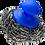 Thumbnail: Nerūdijančio plieno puodų šveitiklis su rankena