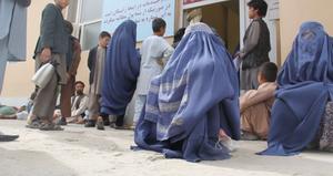 Afghan women, burqa, women