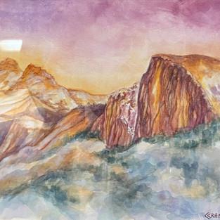 Halfdome Yosemite