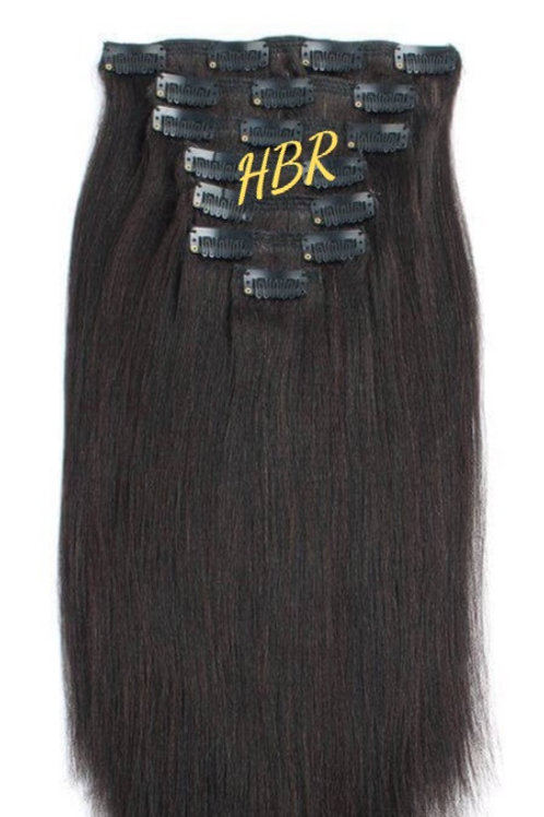 Clip-in Extensions: Yaki Straight