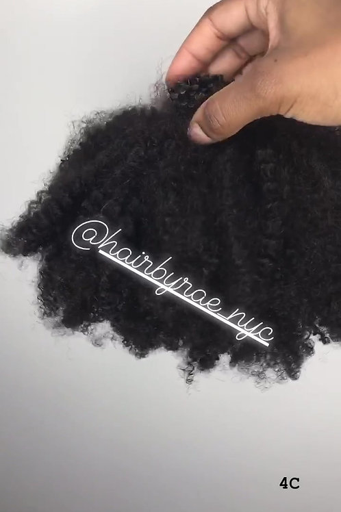 Type 4C: Afro Kinky Curly Collection