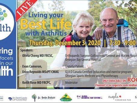 Living your Best Life with Arthritis
