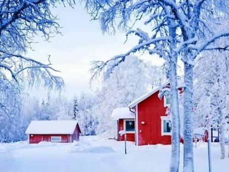 Acheter et vendre sa maison l'hiver... Avantages et inconvénients