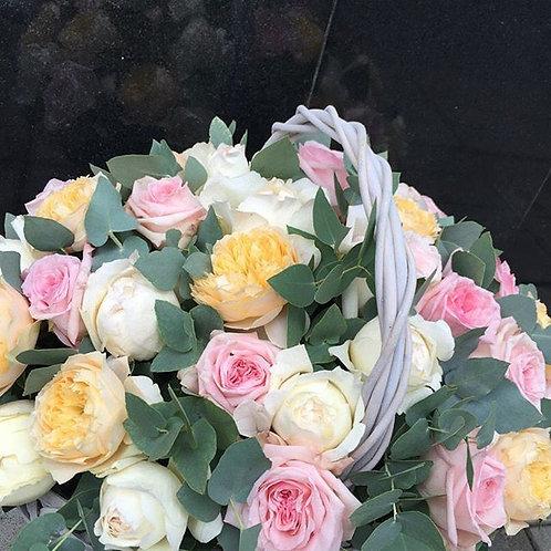 """Корзина """"Розовый сад"""""""