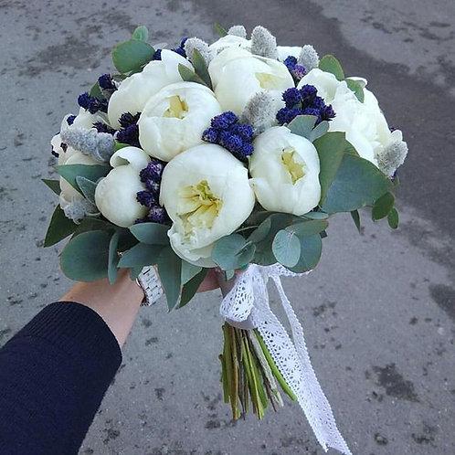 """Букет """"Снежные пионы"""""""