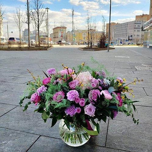 """Букет """"Московкая весна"""""""
