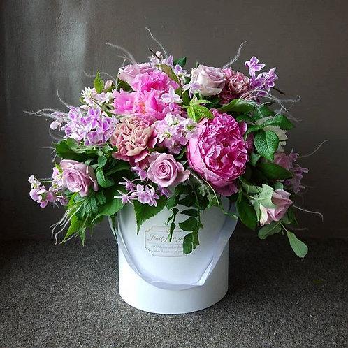 """Коробка """"Розовый сад"""""""