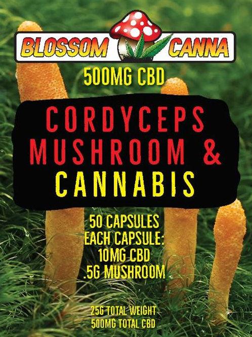 Cordyceps Blossom Canna CBD Capsules