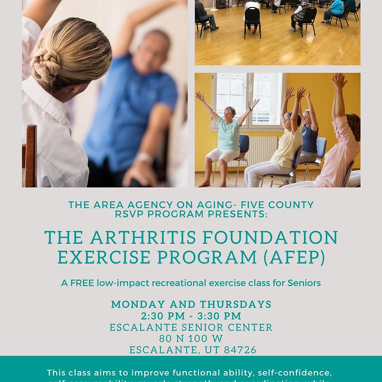 Arthritis Foundation Exercise Program  (AFEP)-Escalante