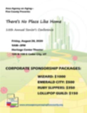 Seniors Conference 8-28-2020 sponsorship