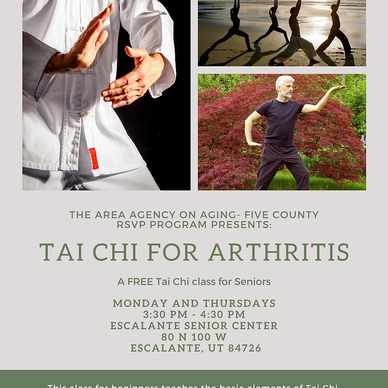 Tai Chi for Arthritis-Escalante