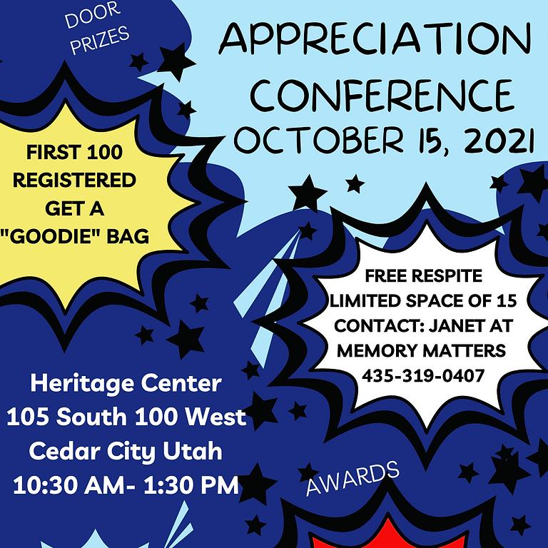 Caregiver Appreciation Conference
