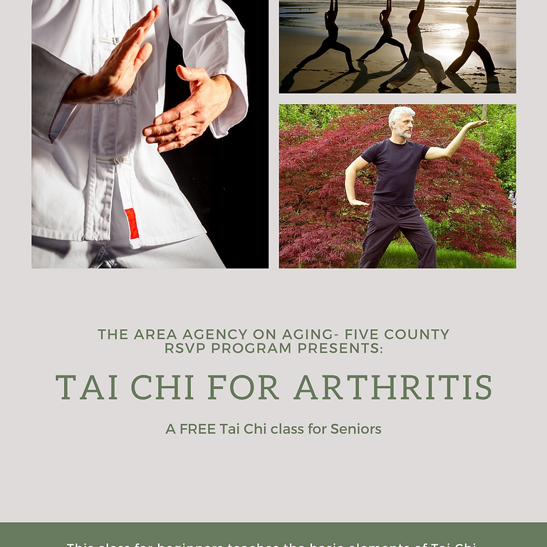 Tai Chi for Arthritis-St. George